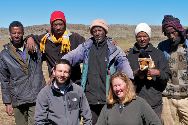 The EWP Team in Ethiopia